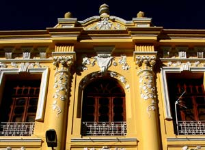 Quito buildings