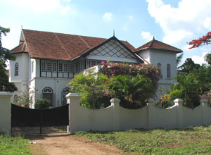 A colonial villa in Fort Cochin