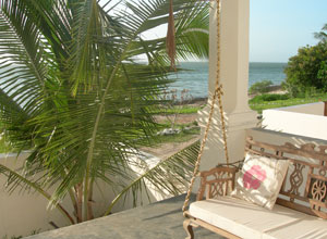 Veranda at Ibo Island Lodge