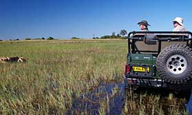 Botswana safari holiday to the Okavango, Chobe
