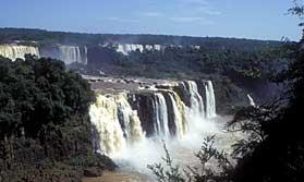 Rio, waterfalls, rivers, coast