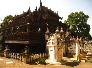 Bagya teak monastery