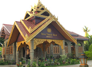 Shwe Thazin Hotel in Mrauk U