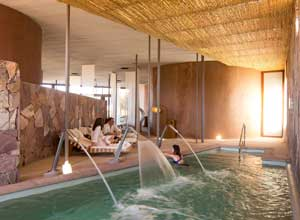 Tierra Atacama spa pool
