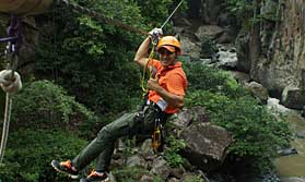 Enjoy an all action adventure in Costa Rica