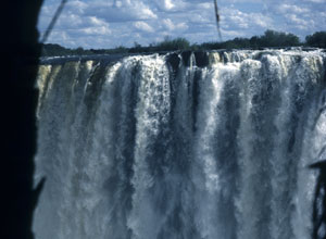 Victoria Falls is just 10kms from the camp