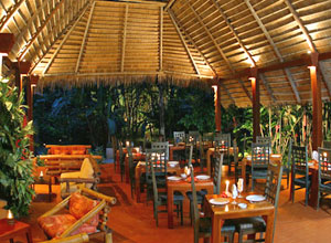 Dine in style at Shawandha Lodge