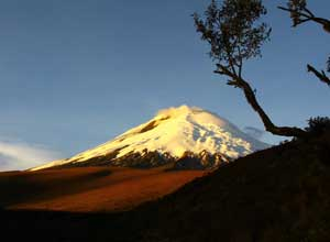 View of Cotopaxi volcano