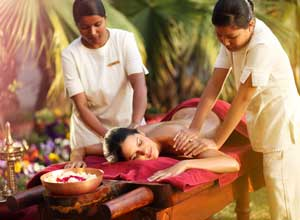 Massages are part of the wellbeing programmes