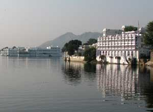 Lake Pichola and the Lake Palace in Udaipur