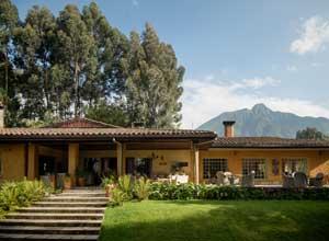 Sabyinyo Silverback Lodge in the Virungas