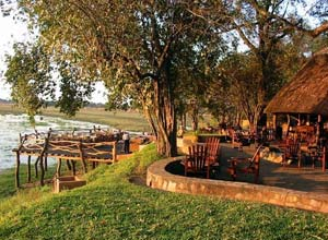 Kafunta River Lodge in Zambia's South Luangwa