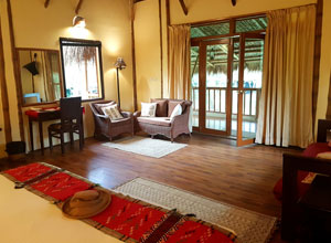 Diphlu River Lodge rooms