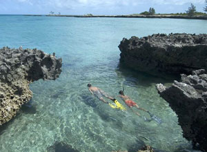 Snorkelling near Anantara Bazaruto