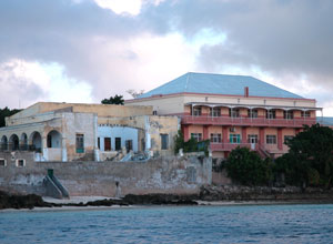 Historic buildings on Mozambique Island