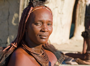 Meet Himba people near Opuwo Country Lodge