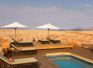 Wolwedans Dunes Lodge pool