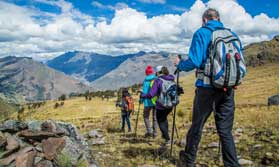 The Lares trek to Machu Picchu
