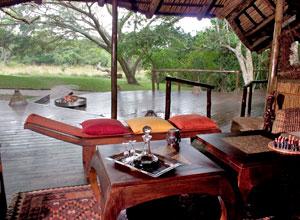 Kosi Forest Lodge lounge