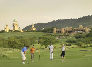 Golf is one of the activities in Sun City