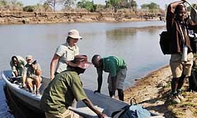 Crossing the Luangwa with Remote Africa Safaris