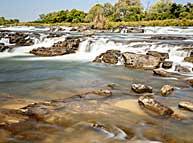 Popa Falls Caprivi
