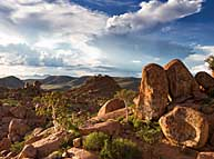 Damaraland rock formations